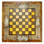 Leather Chessboard Medieval