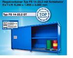 Mit DIBt-Zulassung: Regalcontainer Typ FS 14-23.2