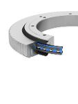 Aluminium Bearing Assembly With External Gear Type Lve