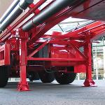 trailer landing gear - S2000 Plus mega