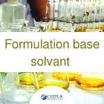 Formulation base solvant