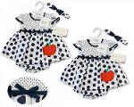 Baby Dress- Apple