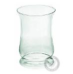 Candle holder glass vase 256C H:22,5cm D:16,5cm