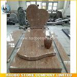 New Style Granite Heart Shaped Headstones For French Market