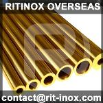 Brass Seamless Pipes
