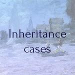 Cross-border Inheritance cases