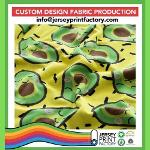 Customisable fabric custom pattern fabric designer knits