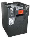 Lead batteries for rail applications