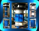 Zylinder-Typ Prüftransformatoren und Prüftrafokaskaden