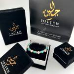 Black Suede Cloth and White Paper Boxes