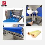 MACHINE ATTACHED TO A PRODUCTION LINE TO MAKE SPONGE CAKE