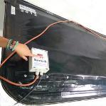 Self-heating reusable vacuum bag