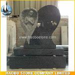 Carved Angel Shaped Headstones For Cemetery