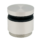 Baluster point fitting, adjustable, Ø 50 mm, for 8-25,52 mm glass