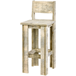 Timber Barstool 2 Rl