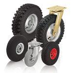 Räder und Rollen mit Luftreifen