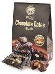 Chocolate dates with almond, Black 100g
