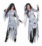 Costume sorcière grise