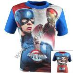 10x T-shirts Captain America du 3 au 10 ans