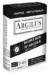 Mortier Argilus pour brique d'argile crue