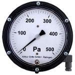 Differential pressure indicator with analogue output DA2000A