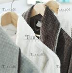 Textured velour robes
