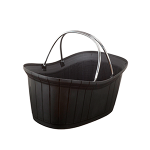 Elegant shopping basket