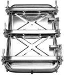 Portes extérieures rectangulaires - Portes rectangulaires 310 / 420 ou 400/530
