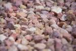 Gravier décoratif de marbre rose