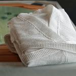 Linge de bain : serviettes et peignoirs