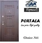 Exterior steel scurity mdf doors Portala