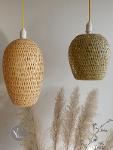 Double Layer Bamboo Pendant Light