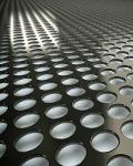 Perforated metal sheeting