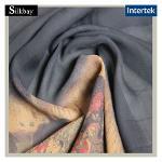 12776 Silk Gorgette Crepe Fabric