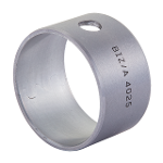 Wrapped composite sliding bearing