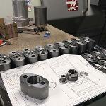 Metal parts by customer drawings