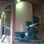 ES525F Schermato * large dryer with DUST CONTROL COWLING *