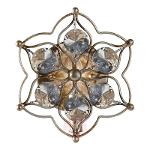 Leila decorative crystal wall light