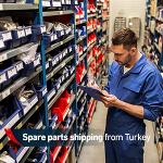 spare parts shipping from turkey