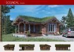 Prefabricated wooden house SOGNDAL