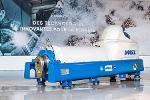 Decanter centrifuge for environment