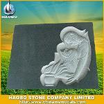G654 Headstone Carving Headstone HBMES004