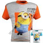 12x T-shirts Minions du 3 au 8 ans