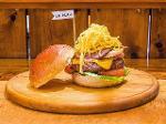 Hamburger serving board