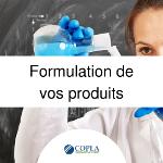 Formulation de vos produits