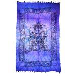 Cubrecama Ganesha (140x210 Cm) 100% Algodón (precio Por Unidad)