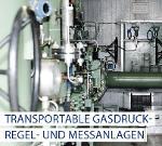 Transportable Gasdruck-Regel- und Messanlagen