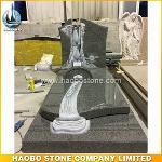 Haobo Factory Laser Etching Granite Headstones Wholesale
