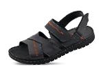 Men's sandals in gray color