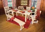 Ensemble salle à manger en bois